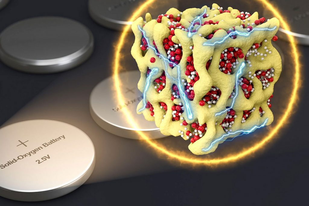 باتری لیتیوم اکسیژن جدید نویدبخش خودروهای الکتریکی سبک وزن