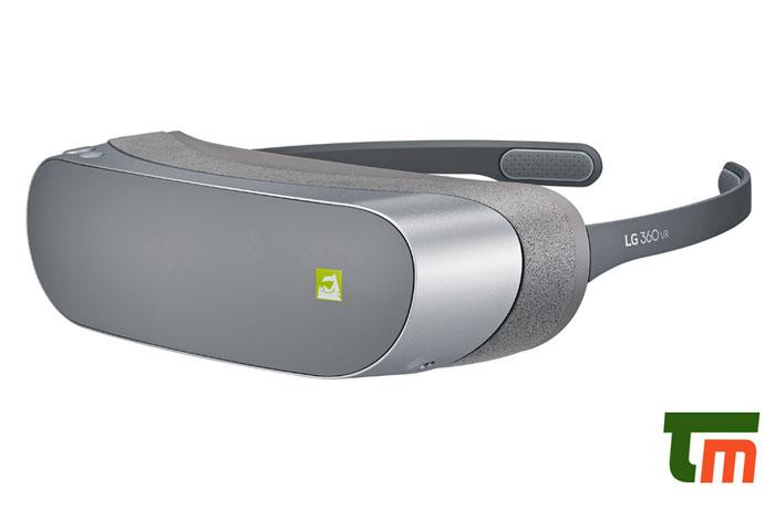 بررسی هدست واقعیت مجازی LG 360 VR