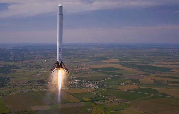 اسپیس ایکس آزمایش موتور موشکی که قرار است به مریخ سفر کند را آغاز کرده است