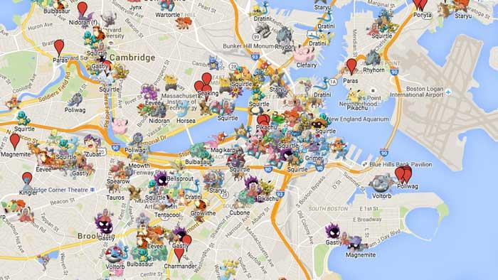 پشتیبانی داخلی از بازی Pokemon Go در نرم افزار گوگل مپ ممکن شد