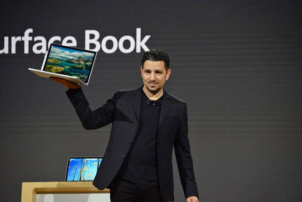 مایکروسافت از سرفیس بوک i7 رونمایی کرد