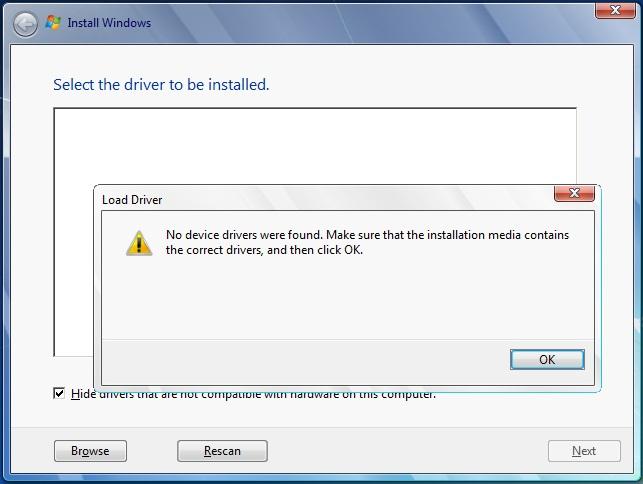 آموزش رفع مشکل نصب ویندوز 7 روی مادربوردهای سری 100 اینتل