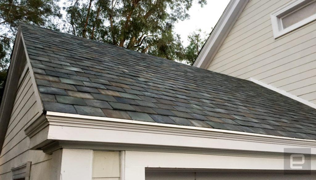 سقف خورشیدی تسلا