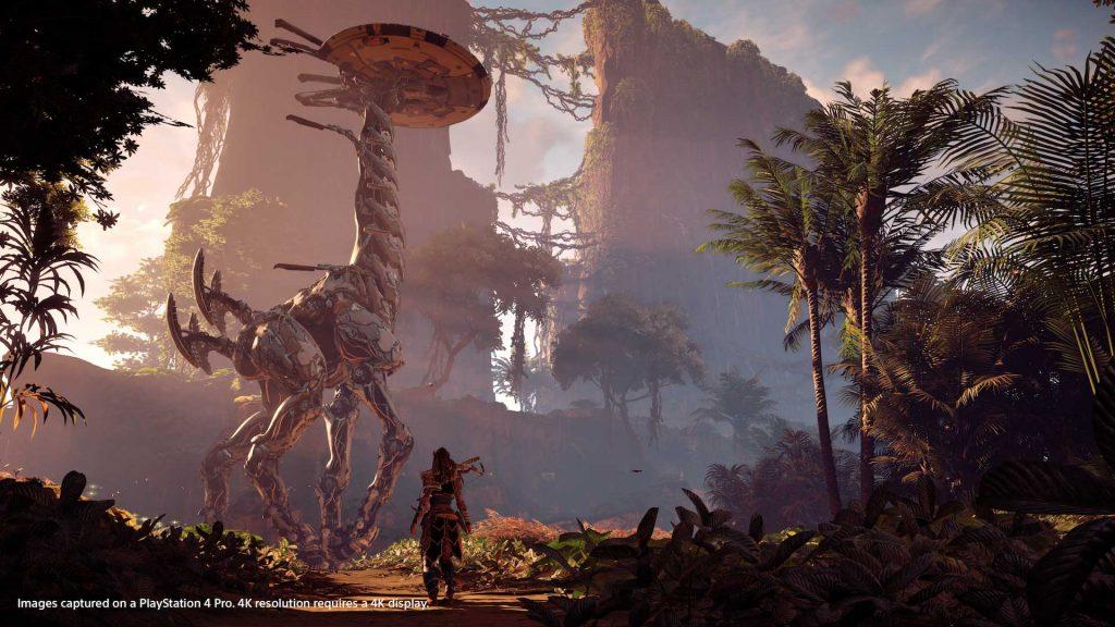 گرافیک بازی Horizon: Zero Dawn با HDR روی PS4 Pro زیباتر خواهد بود