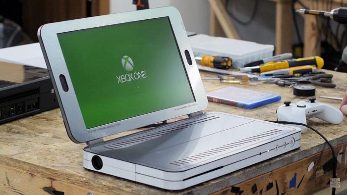 تماشا کنید: تبدیل ایکس باکس وان اس (Xbox One S) به لپتاپ با تنها 200 دلار