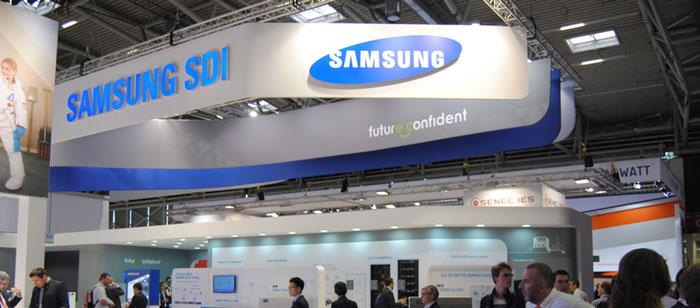 کارخانه Samsung SDI