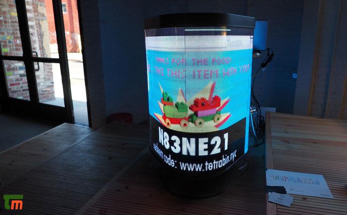 سطل زباله هوشمند TetraBIN