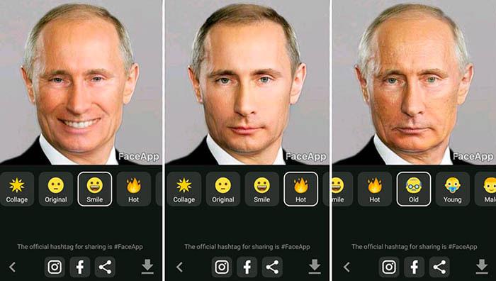 آموزش و دانلود برنامه FaceApp برای تغییر چهره و به اشتراک گذاشتن آن