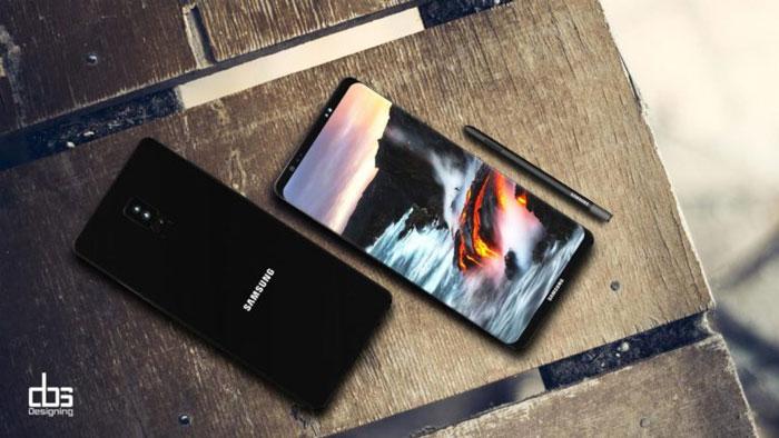 مشخصات سامسونگ گلکسی نوت 8 : نمایشگر 6.3 اینچی و دوربین دوگانه