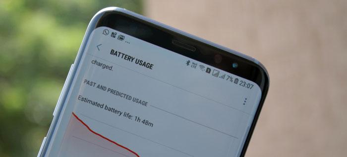 بررسی عمر باتری گلکسی S8 پلاس (Galaxy S8 Plus)
