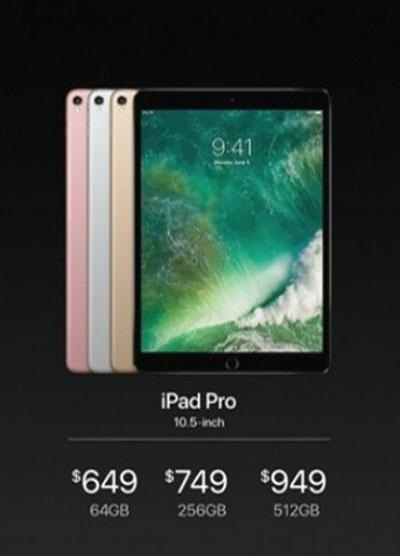 قیمت + مشخصات آیپد پرو 10.5 اینچی (iPad Pro 10.5)