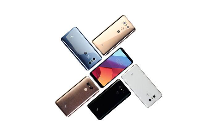 گوشی ال جی جی 6 پلاس (LG G6 Plus) و ال جی جی 6 نسخه 32 گیگابایتی رونمایی شدند