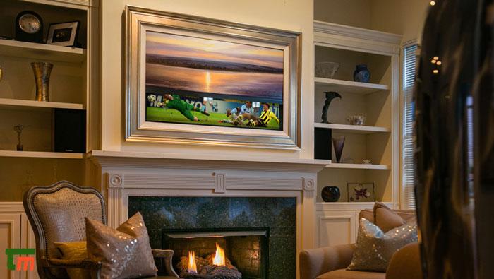 قیمت و مشخصات تلویزیون سامسونگ Frame TV