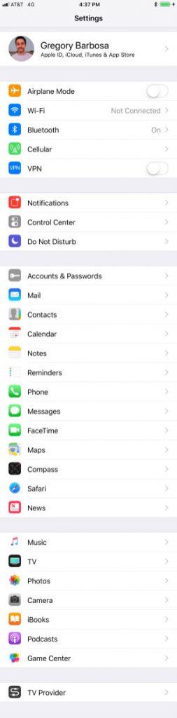 آپدیت iOS 11