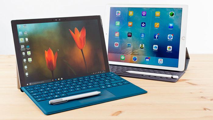 مقایسه سرفیس پرو با آیپد پرو (Surface Pro vs iPad Pro) : قهرمانان سال 2017