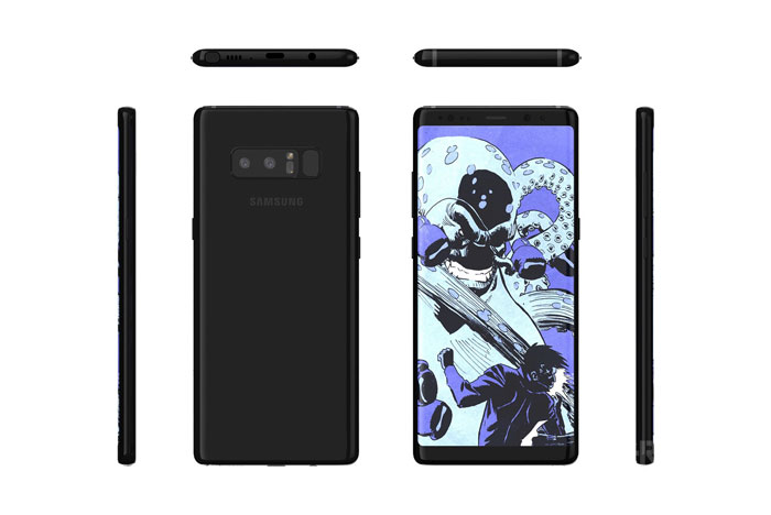 تصاویر+مشخصات گلکسی نوت 8 | Galaxy Note 8 : استفاده از دوربین دوگانه برای اولین بار